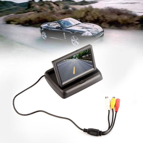 "4.3"" Fold-able TFT LCD Screen Monitor for Reversing camera"