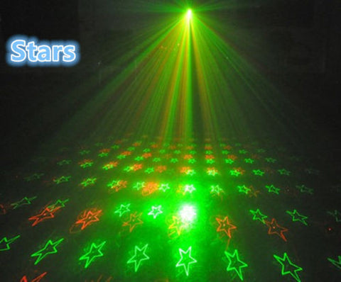 C 4 in 1 Mini Laser Projector Party Light
