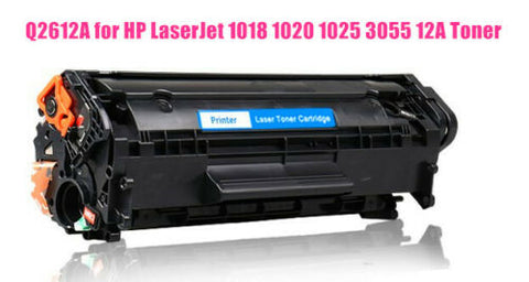 Q2612A Black Toner Cartridge For HP