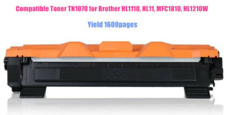 Black Toner Cartridge TN1070 Brother