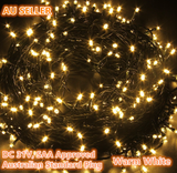 300 LEDs 50M Warm White Fairy String Lights DC 31V