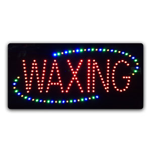 Epoxy Resin LED WAXING Sign
