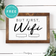 But First Wifi • Wall Art Decor • Free Printable • Black and White