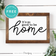 Its So Good To Be Home • Modern Farmhouse • Entryway Wall Art • Free Printable • White