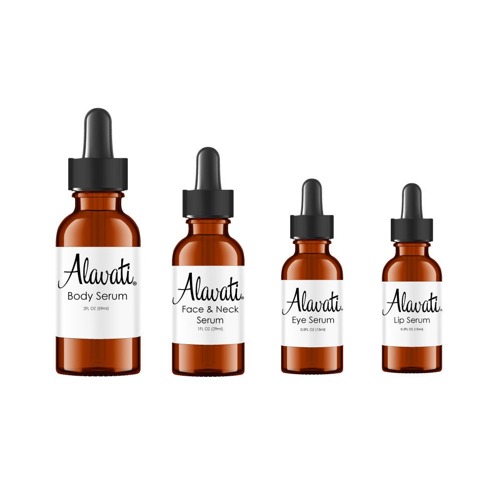 anti aging serum package