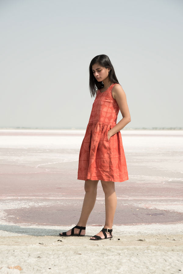 Geo Dress in Rust