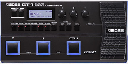 Boss GT-1 multi-effects processor DEMO