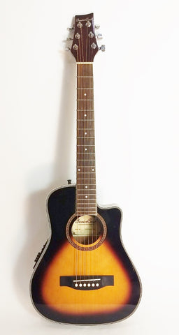 Beaver Creek Traveller guitar sunburst