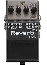 Boss Digital Reverb RV-6