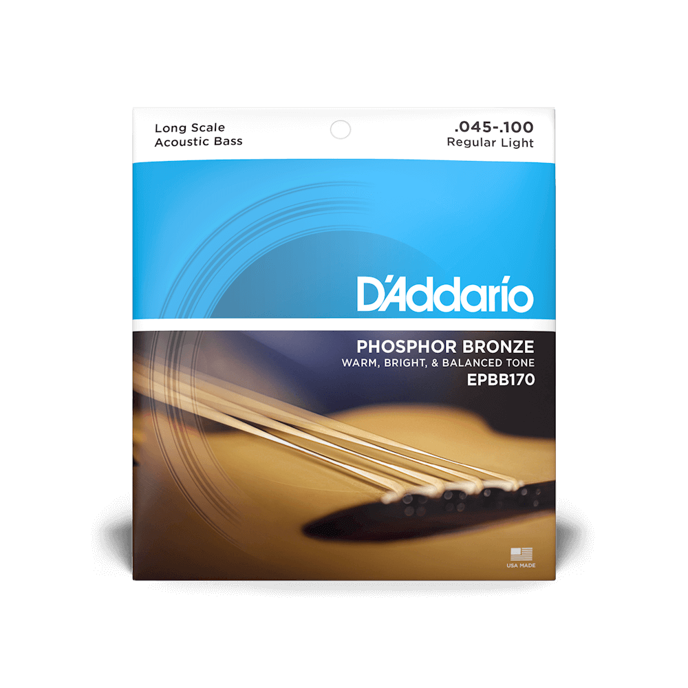 D'addario Acoustic Bass Strings Phosphor Bronze