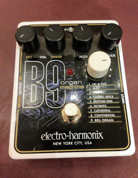 Electro Harmonix B9 organ machine used