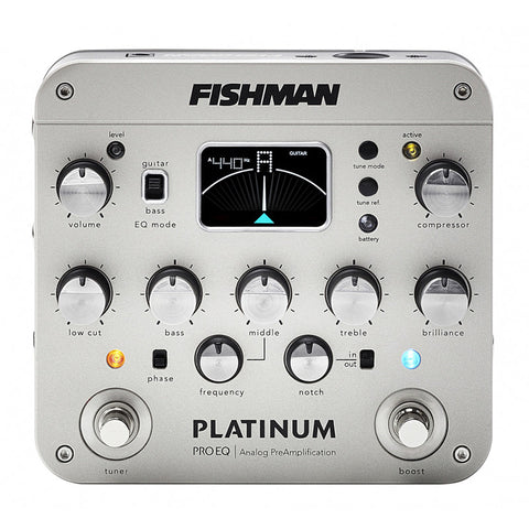Fishman PRO EQ analog preamp/DI