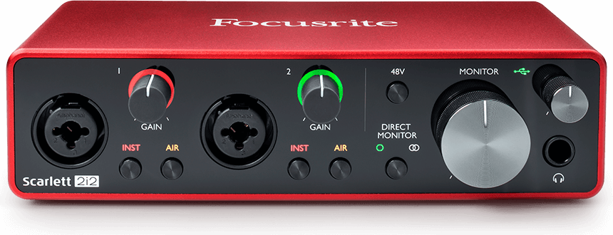 Focusrite Scarlett 2i2 USB Interface 3rd gen