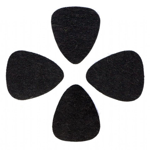 Timber Tones FEL-BLKWF-4 Black Wool Felt 4 pack