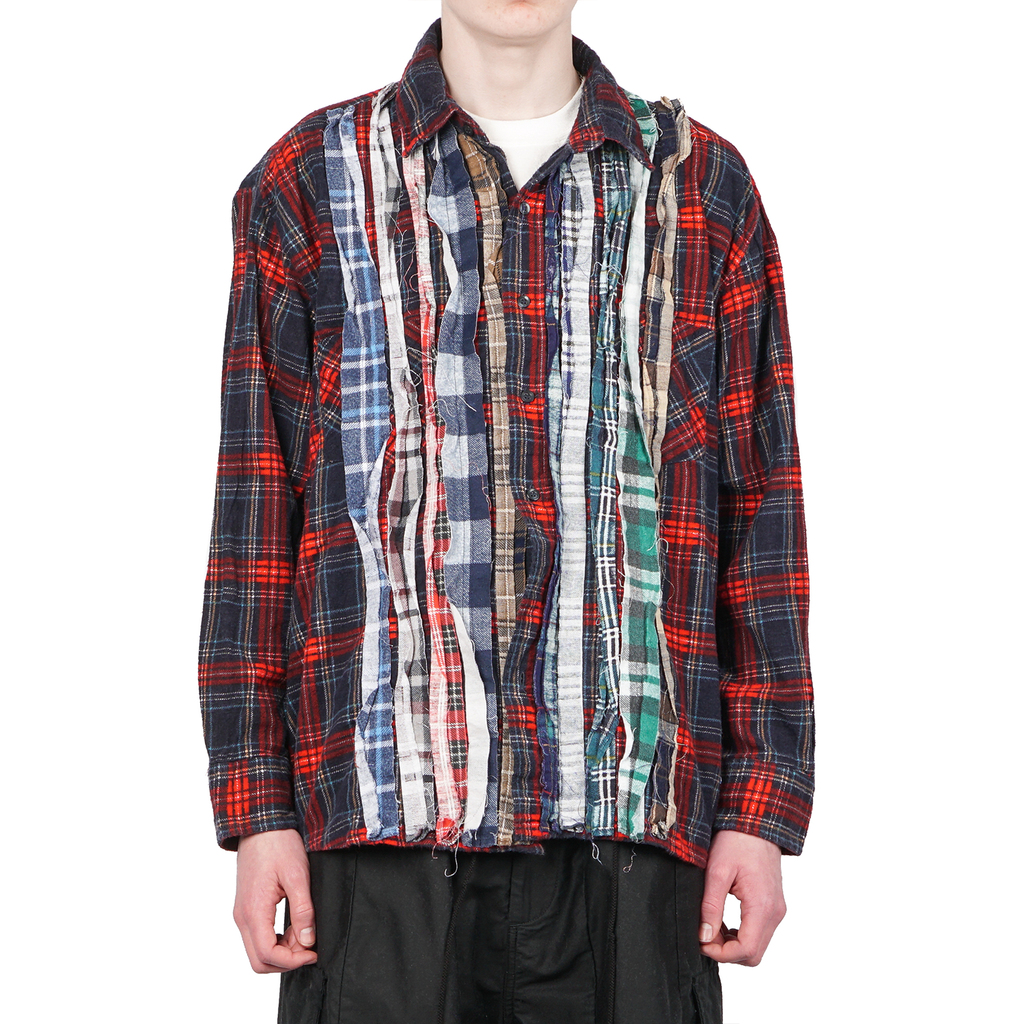 S19 REBUILD BY NEEDLES FLANNEL SHIRT