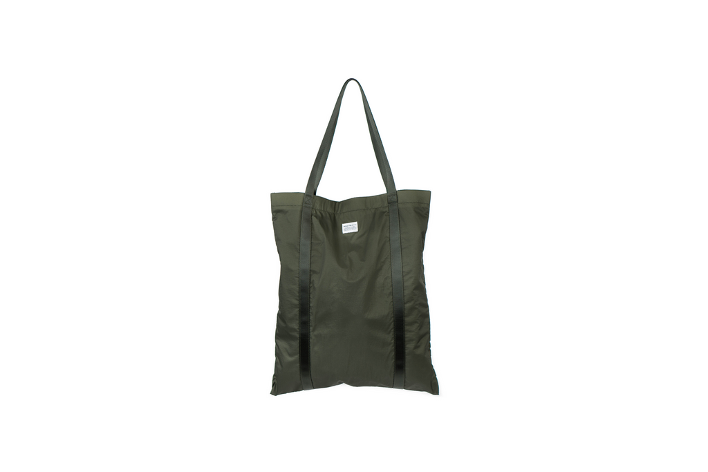 "RIPSTOP TOTE ""DRIED OLIVE"""