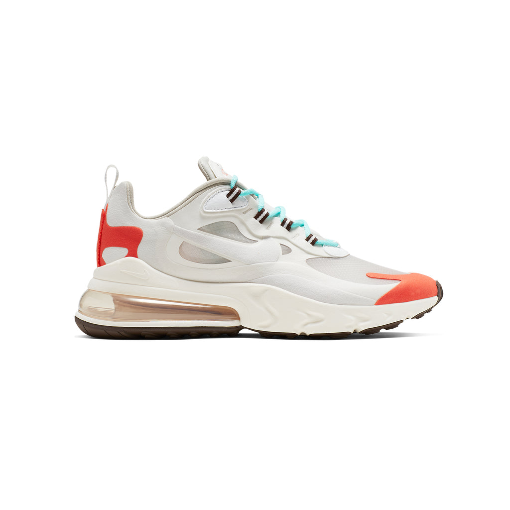 "AIR MAX 270 REACT ""LT BEIGE CHALK/PLATINUM TINT"""