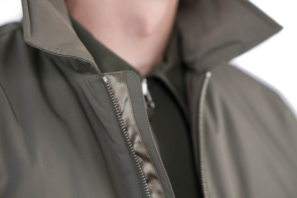 "ELLIOT NYLON JACKET ""LICHEN"""