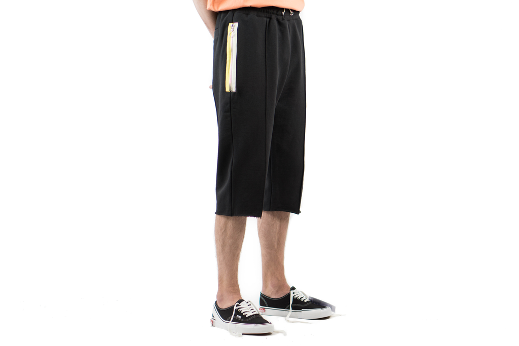 "3/4 SWEAT PANT ""BLACK"""