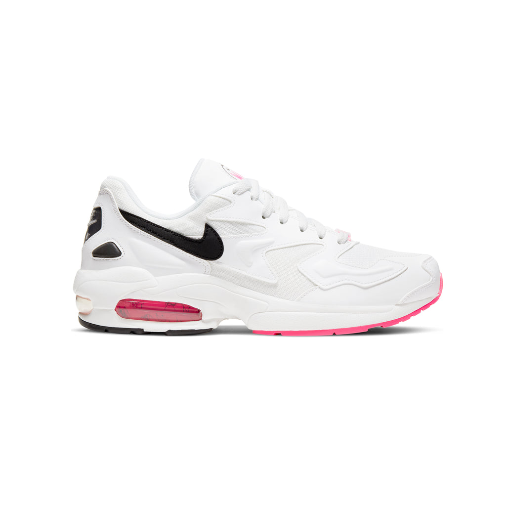 "AIR MAX 2 LIGHT ""SUMMIT WHITE/BLACK-HYPER PINK"""