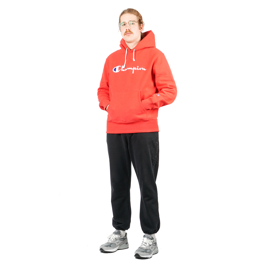 HOODED SWEATSHIRT W/ FULL CHEST LOGO