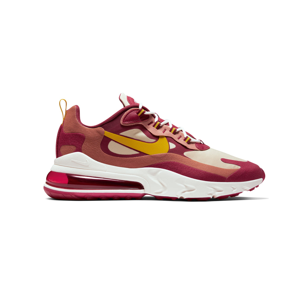 "AIR MAX 270 REACT ""NOBLE RED/DARK SULFUR"""