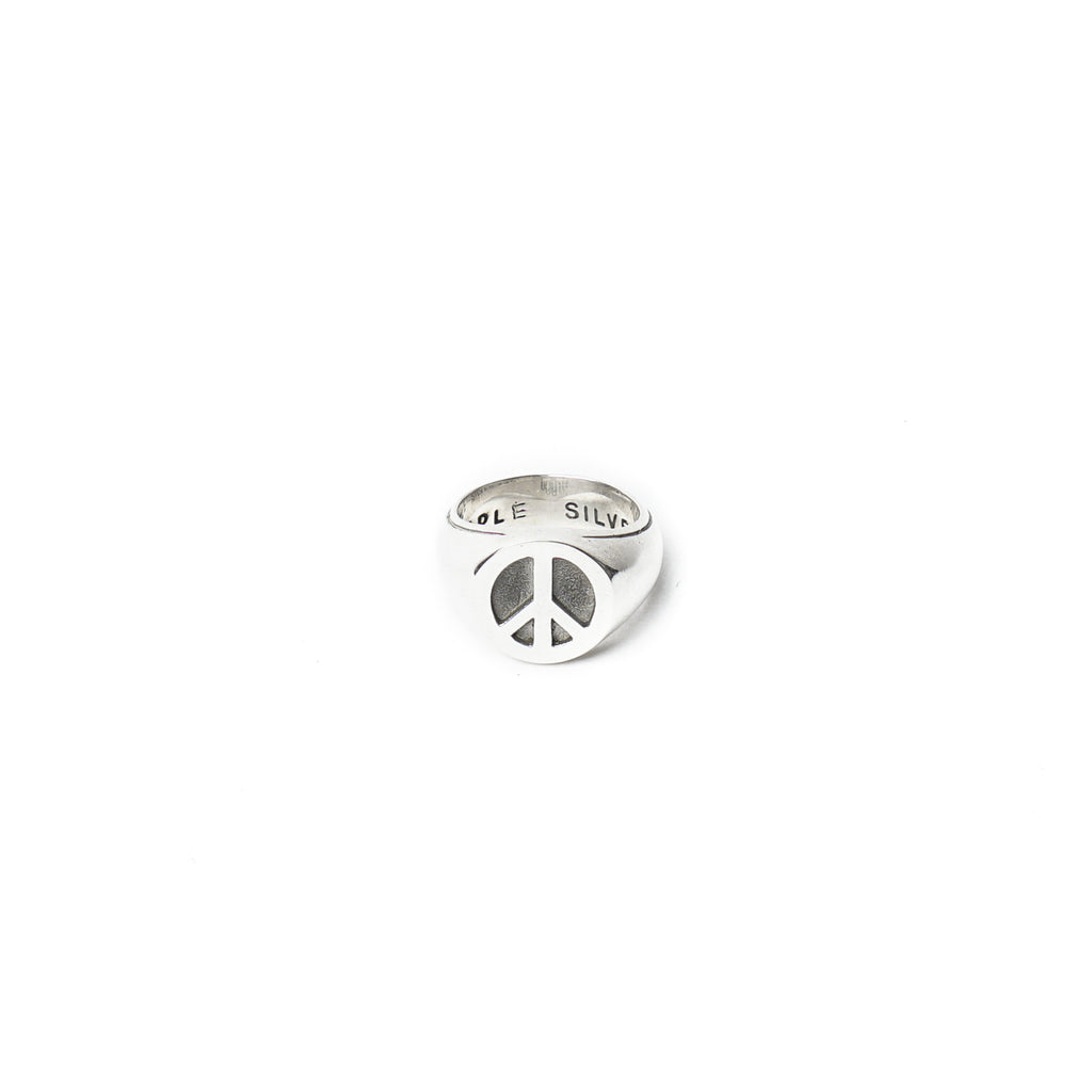 "PEACE RING ""SILVER 925"""