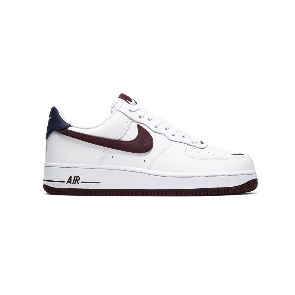 "AIR FORCE 1 '07 LV8 4 ""WHITE/NIGHT MAROON-OBSIDIAN"""