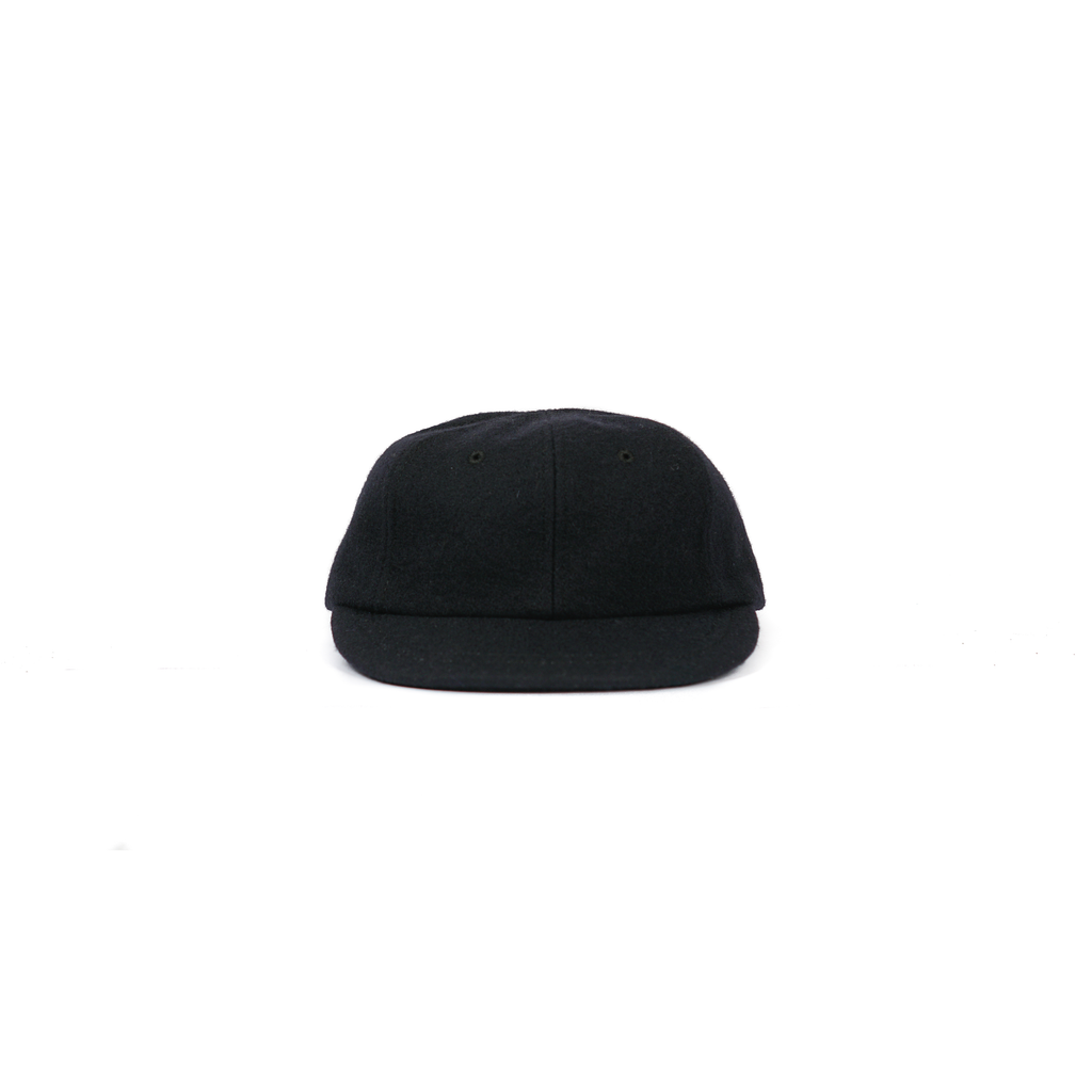 "MESA CAP (WOOL) ""BLACK"""