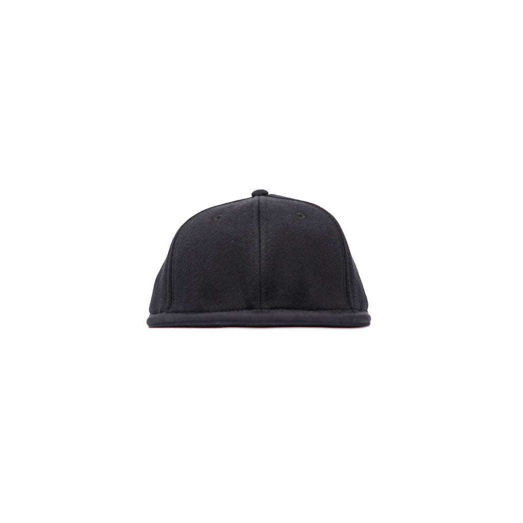 "REVERSE WEAVE BASEBALL HAT ""BLACK"""