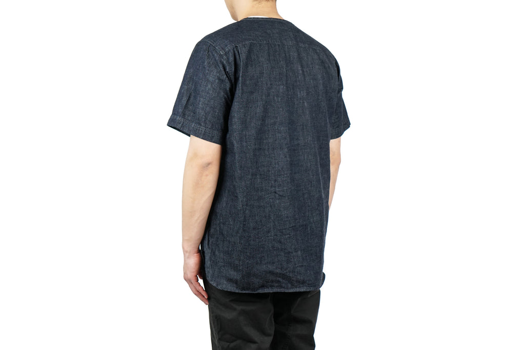 "DUNGAREE FIELD SHORT SLEEVE ""INDIGO"""