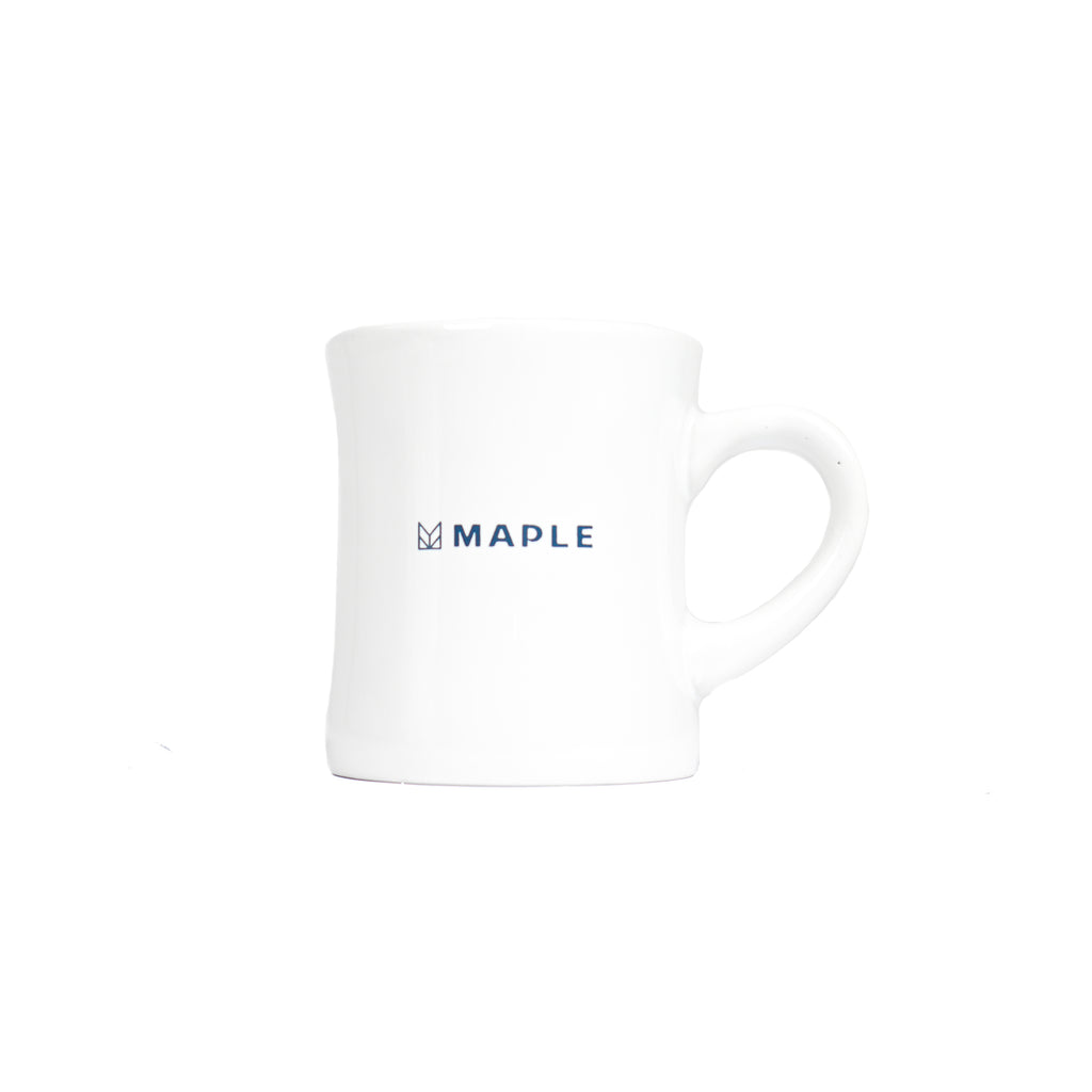 "TRIPLE INSIGNIA MUG ""WHITE"""