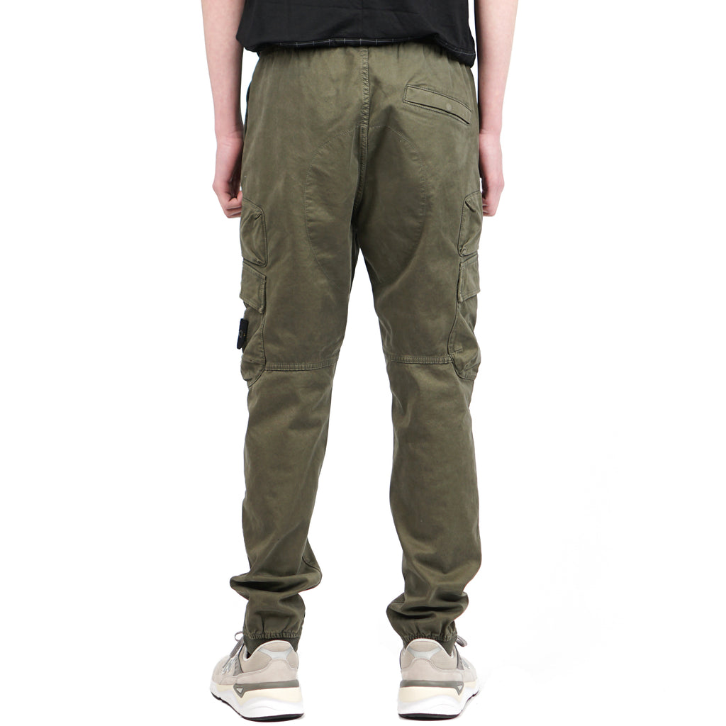 "T+OLD COMBAT PANTS ""OLIVE GREEN"""