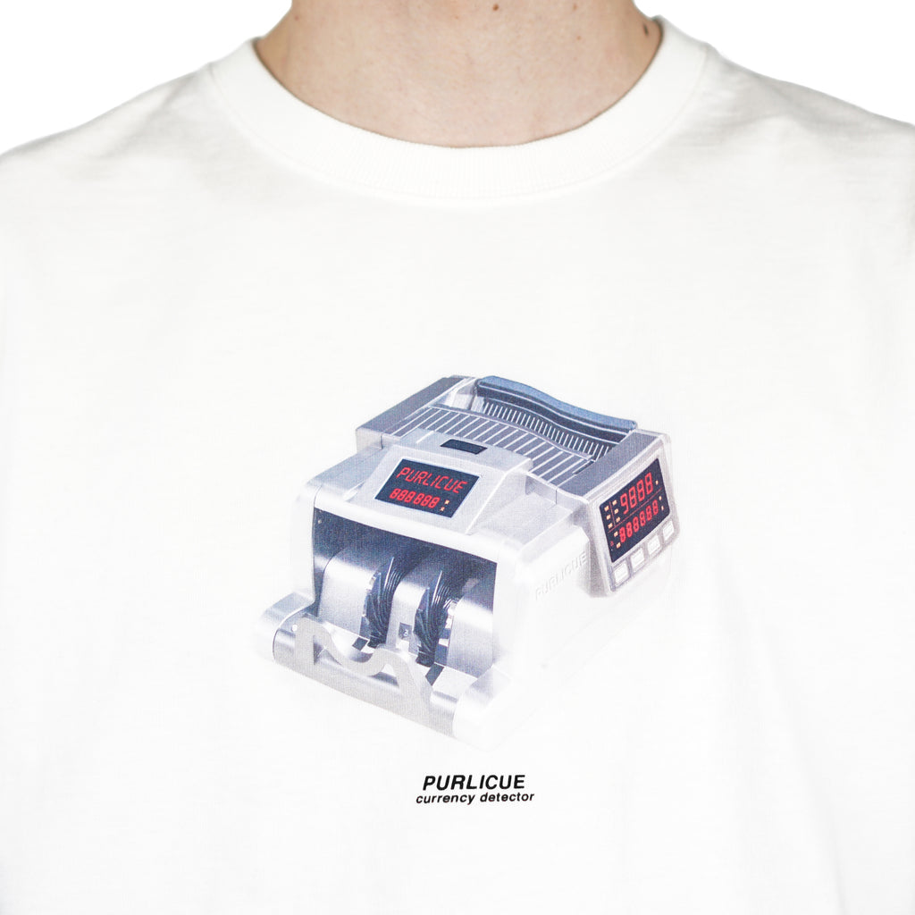 "CURRENCY DETECTOR SS TEE ""WHITE"""
