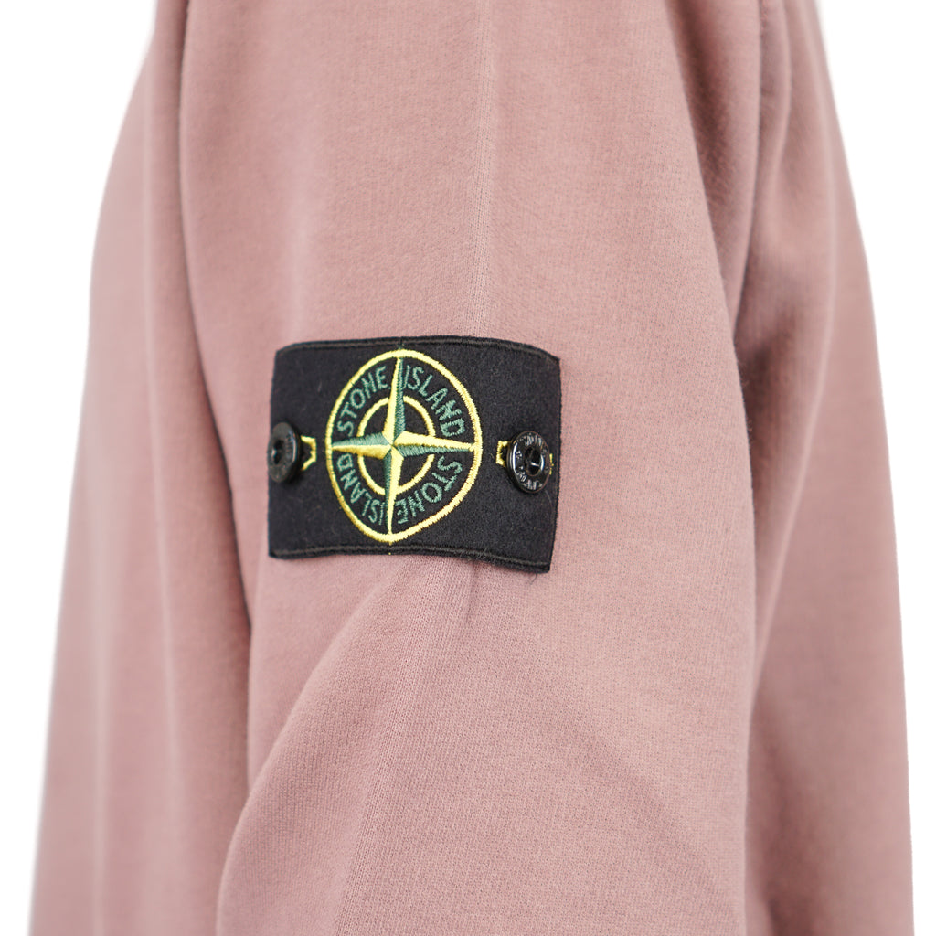 "PEACHED COTTON FLEECE CREWNECK ""PINK QUARTZ"""