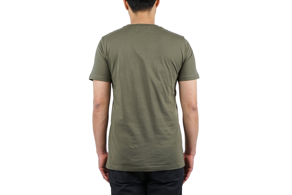"NIELS BASIC SS ""DRIED OLIVE"""