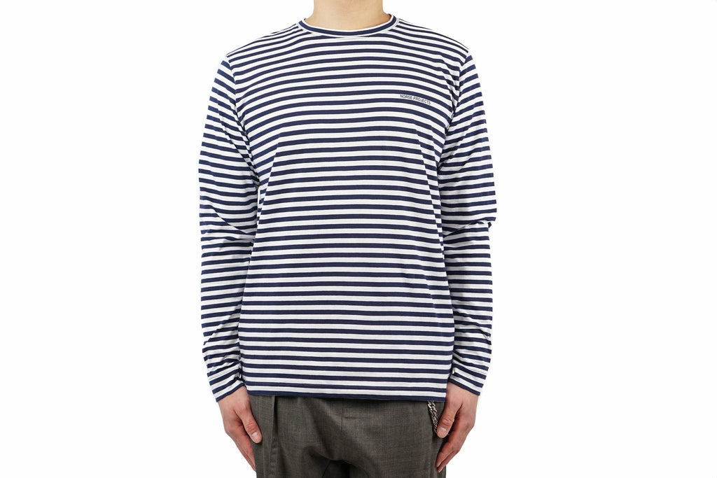 JAMES LOGO STRIPE LS