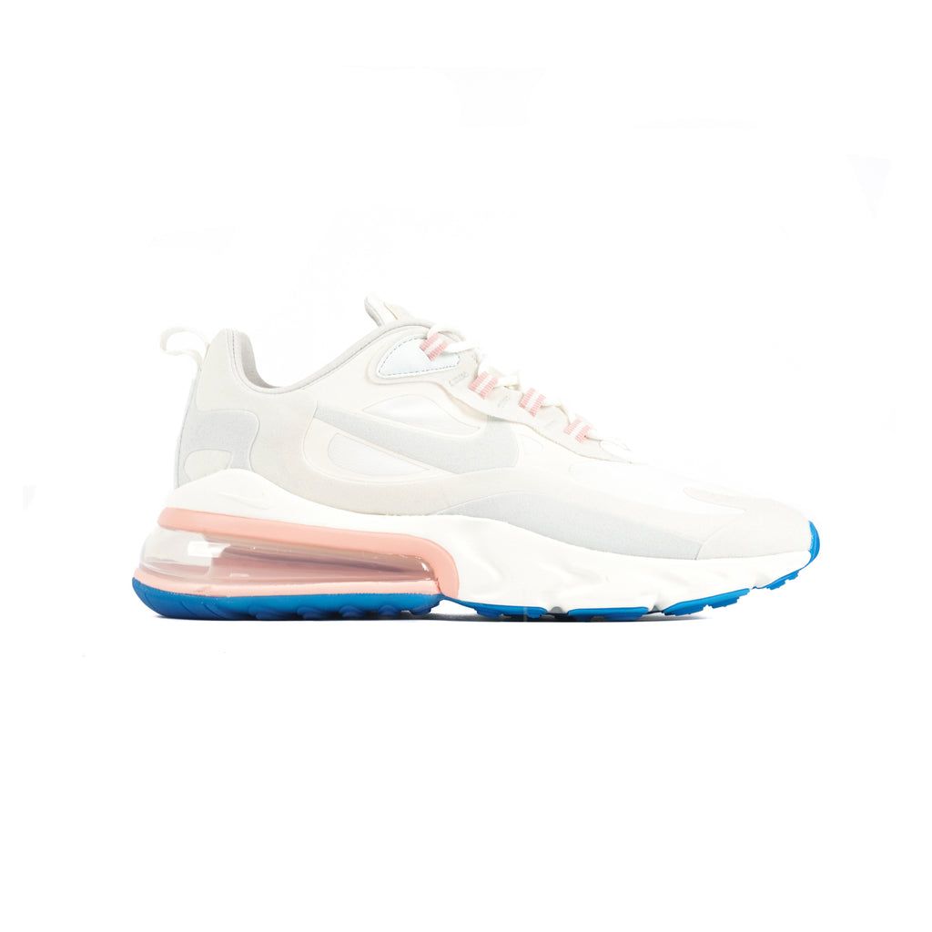 "AIR MAX 270 REACT ""SUMMIT WHITE/GHOST AQUA-PHANTOM"""