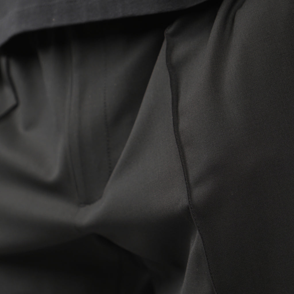 "OPEN OUTSIDE VNET TRACK PANT ""BLACK"""
