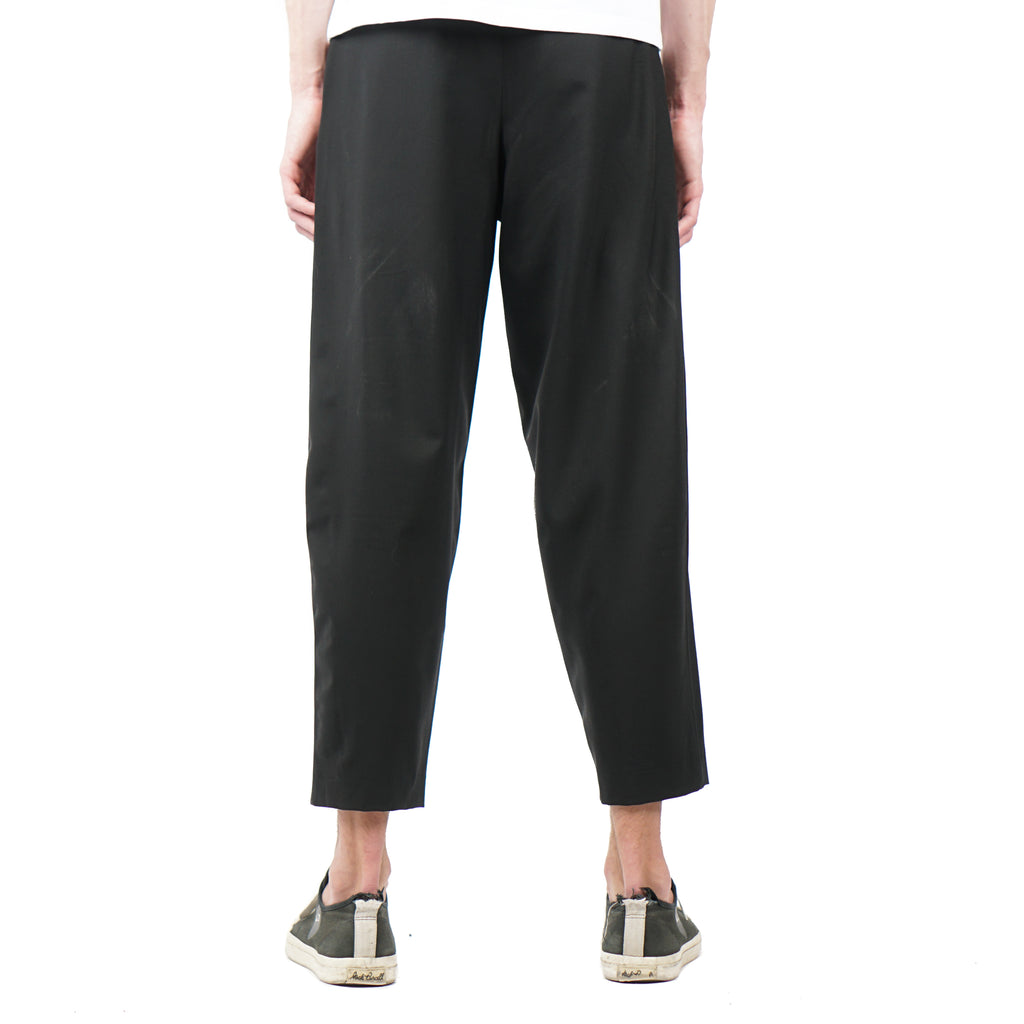 "PLEATED BILLOWED TROUSER ""BLACK"""