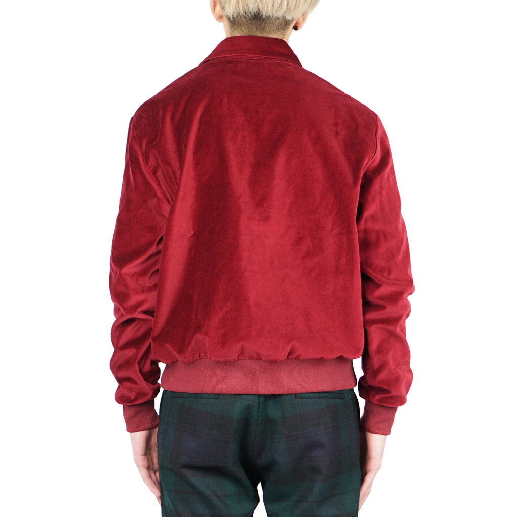 "VELVETEEN PULL OVER ""BURGUNDY"""