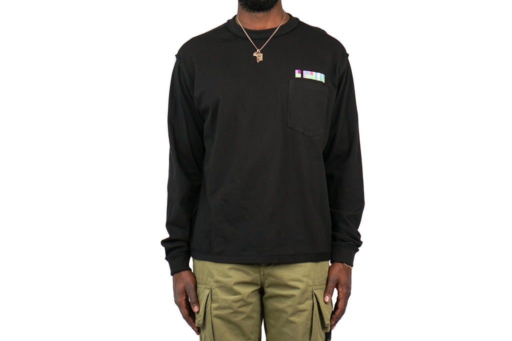 LONG SLEEVE POCKET T