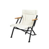"LUXURY LOW BEACH CHAIR ""IVORY"""