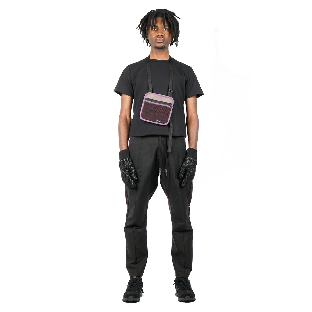 "PANTS D4 ""BLACK/GRAPE"""