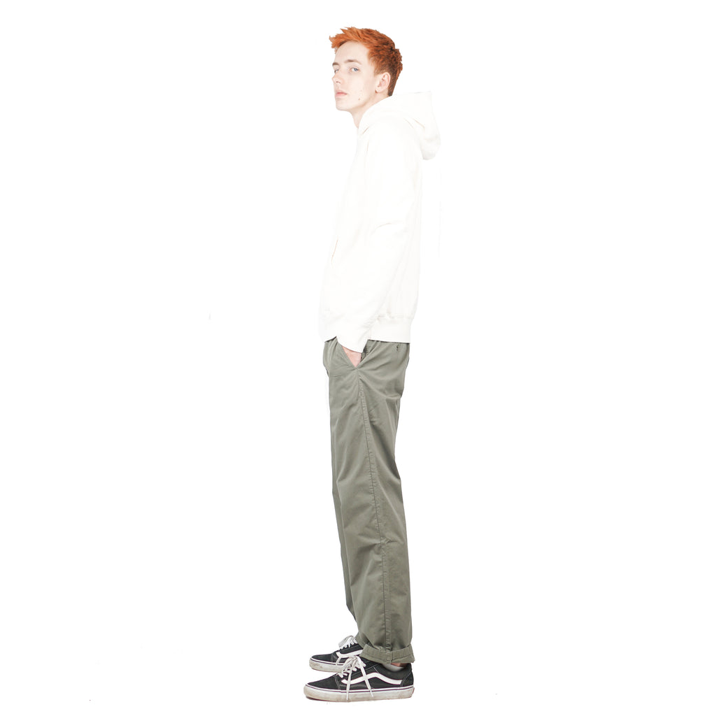 "AROS LIGHT TWILL PANT ""DRIED OLIVE"""