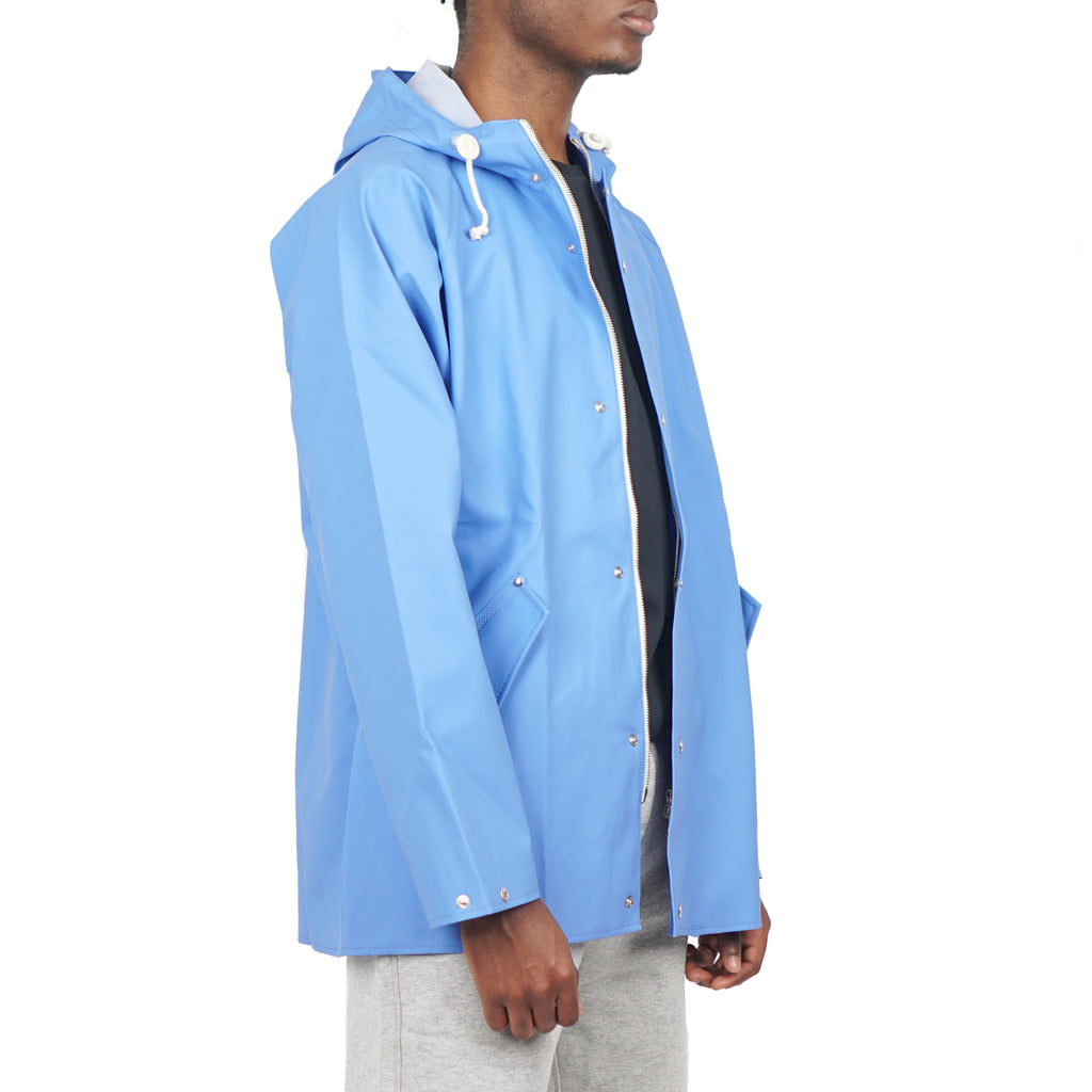 "ANKER RAIN COAT ""LUMINOUS BLUE"""