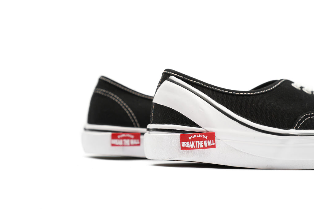 "CANVAS SNEAKERS LOW ""BLACK"""