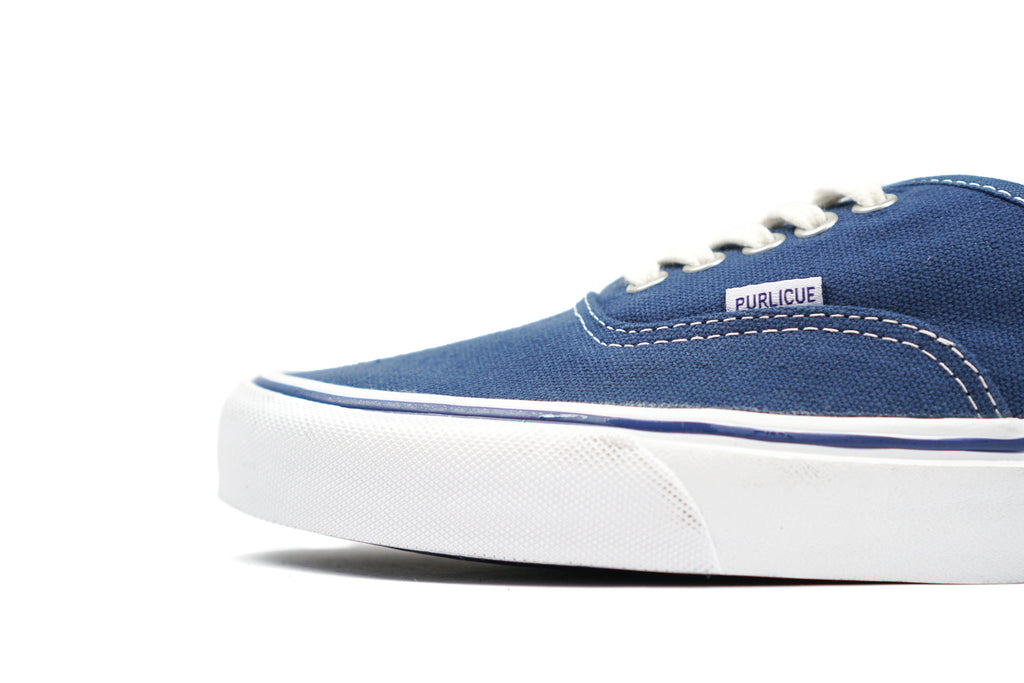 "CANVAS SNEAKERS LOW ""BLUE"""