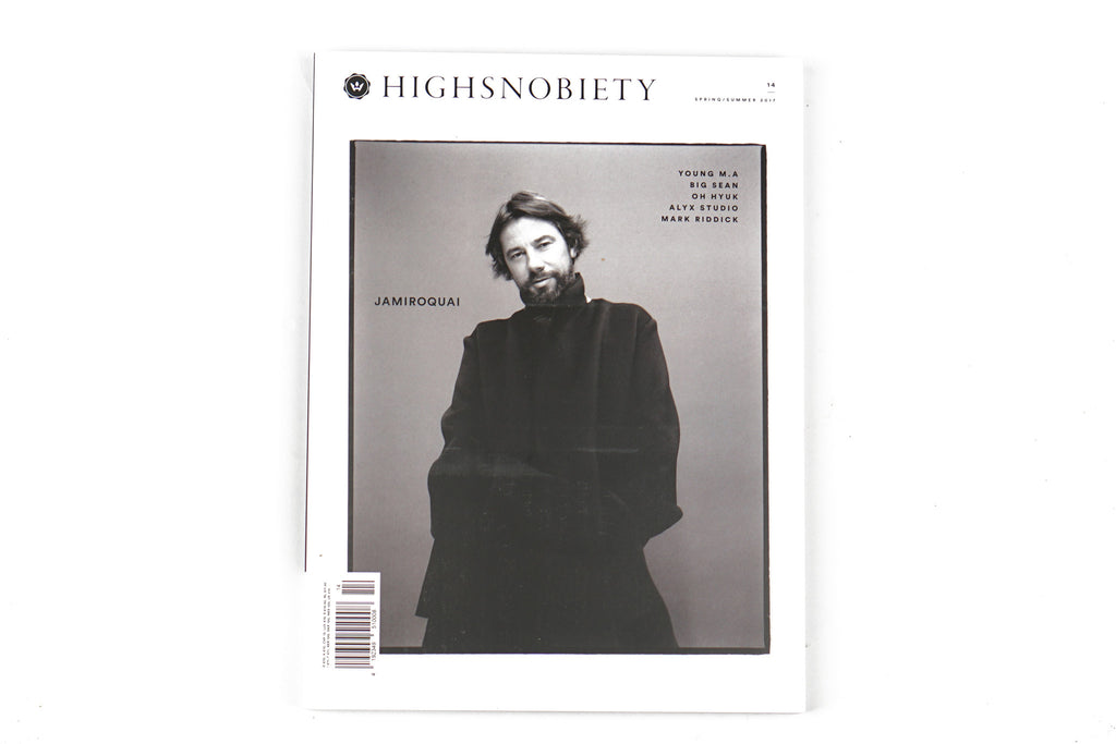 HIGHSNOBIETY ISSUE 14 JAMIROQUAI