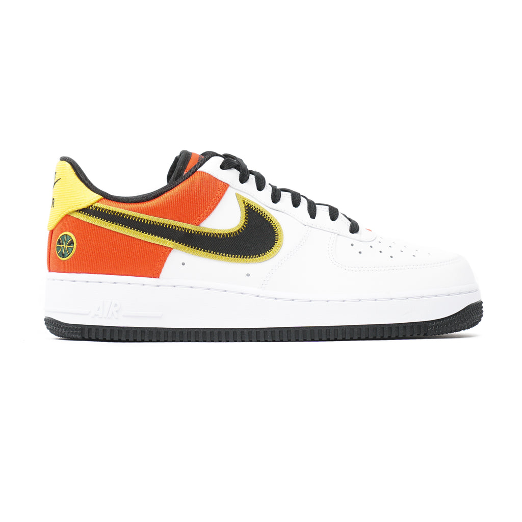 "AIR FORCE 1 '07 LV8 ""WHITE/BLACK-ORANGE FLASH"""